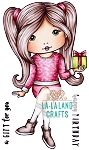 Birthday Gift Molli Digi Stamp