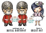 Royal Day Rubber Stamp