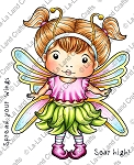 Butterfly Marci Digi Stamp