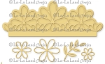 Flower Elements Border Set Die