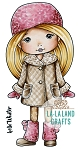 Winter Molli Digi Stamp