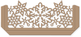 Snowflake Pocket Die