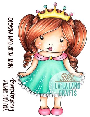 Enchanted Marci Rubber Stamp