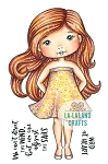 Summer Dress Molli Rubber Stamp