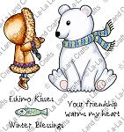 Winter Blessings Digi Stamp