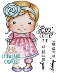 Cutie Pie Baby Marci Rubber Stamp