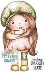 Comfy Sweater Marci Rubber Stamp