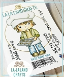 Baker Luka Rubber Stamp