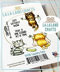 Laundry Cats Rubber Stamp