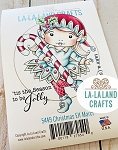 Christmas Elf Marci Rubber Stamp