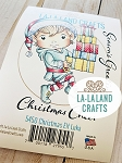Christmas Elf Luka Rubber Stamp