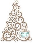 Filigree Christmas Tree Die