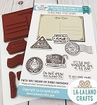 Christmas Postcard Stamp Set