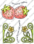 Berry Sweet Rubber Stamp Set