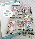 This Little Piggy Clear Stamp Set