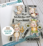 In Hog Heaven Clear Stamp Set