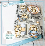 Coffee is Life Clear Stamp Set