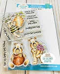 Honey Bear Clear Stamp Set