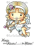 Cupid Marci Rubber Stamp