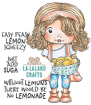 Marci with Lemons Digi Stamp
