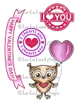 Owl Love You Set Rubber Stamp