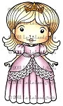 Princess Marci Rubber Stamp