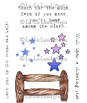 Shooting Star Set Rubber Stamp