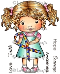 Awareness Ribbon Marci Digi Stamp