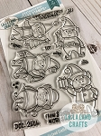 Jolly Elves Clear Stamp Set