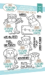 Traveling Cats Clear Stamp Set