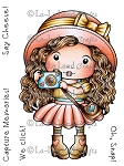 Marci with Camera Digi Stamp