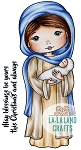 Mary Molli Rubber Stamp