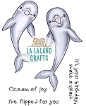Oceans of Joy Rubber Stamp