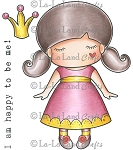 Paper Doll Marci - Princess Rubber Stamp