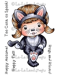 Sitting Cat Marci Rubber Stamp