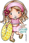 Summer Vacation Marci Digi Stamp