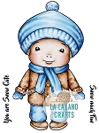 Winter Baby Luka Digi Stamp