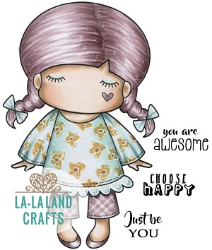 Paper Doll Marci - Awesome Digi Stamp