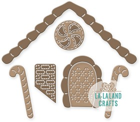 Gingerbread House Add-On Die