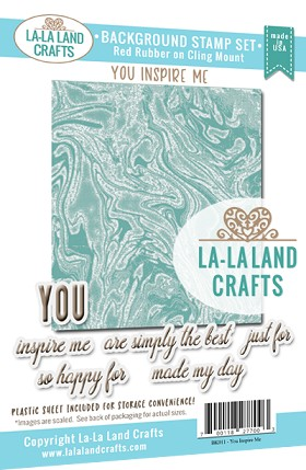 You Inspire Me Background Stamp Set