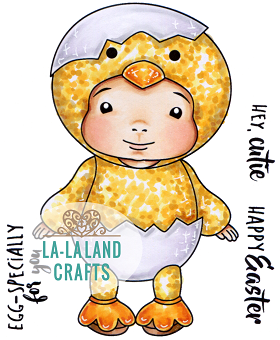 Little Chick Baby Luka Digi Stamp