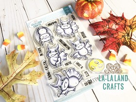 Batty for You Clear Stamp Set