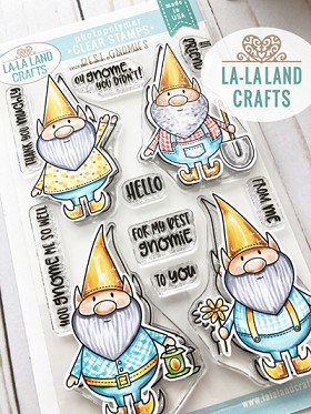 Best Gnomies Clear Stamp Set