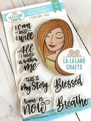 I Can and I Will Clear Stamp Set