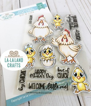 Best of Cluck Clear Stamp Set