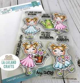 Love to Garden Clear Stamp Set