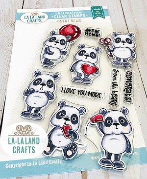 Great News Clear Stamp Set