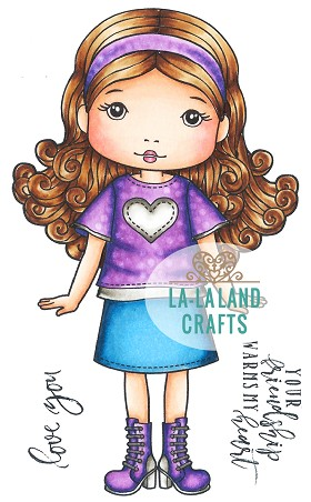 Love you Molli Digi Stamp