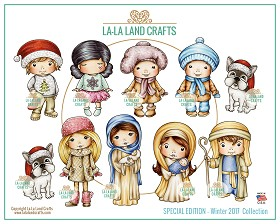 Winter 2017 Collection Rubber Stamp Set
